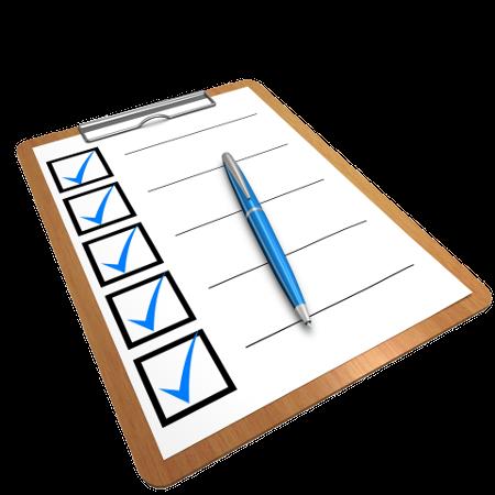 Checklisten fürs Baby