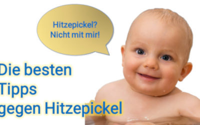 Die 12 besten Tipps gegen Hitzepickel beim Baby