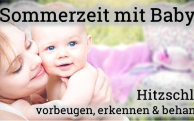 Hitzschlag beim Baby erkennen und behandeln