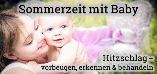 Bild: Hitzschlag beim Baby vorbeugen