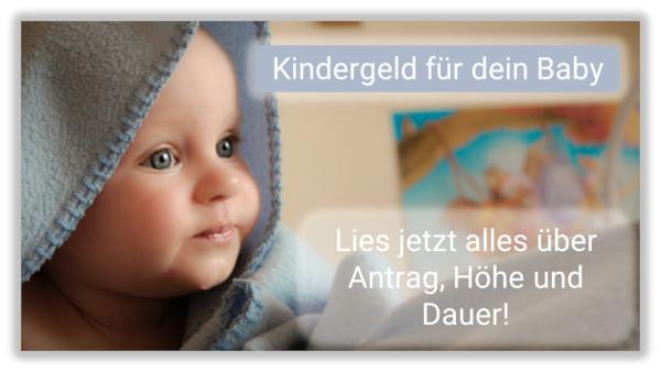 Bild: Kindergeld für dein Baby beantragen