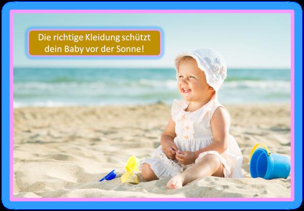 Baby im Sommer – Wie schütze ich mein Kind vor der Hitze?