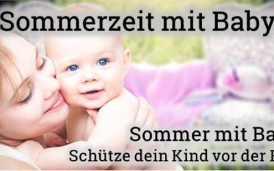 Schütze dein Baby vor der Hitze!