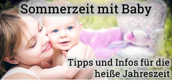 Bild: Sommerzeit mit Baby - Tipps für Eltern