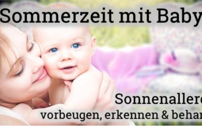 Sonnenallergie beim Baby