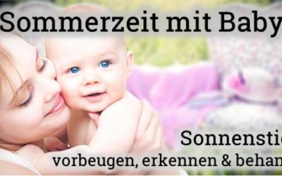 Sonnenstich beim Baby erkennen und behandeln